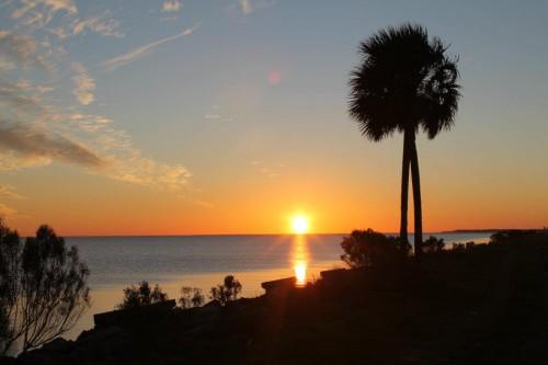 Apalachicola Bay sunset